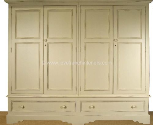 Juline Bespoke Four Door Wardrobe 'B'